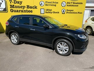 2016 Nissan X-Trail T32 ST X-tronic 4WD Diamond Black 7 Speed Constant Variable Wagon.