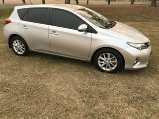 2014 Toyota Corolla ZRE182R Ascent Sport Silver Pearl 6 Speed Manual Hatchback