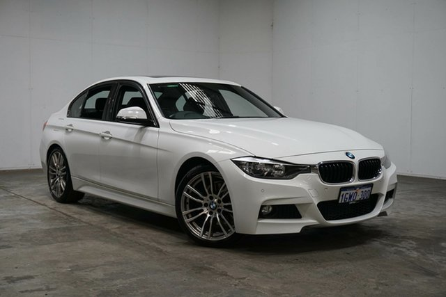 Used BMW 3 Series F30 MY1112 , 2013 BMW 3 Series F30 MY1112 White 8 Speed Sports Automatic Sedan