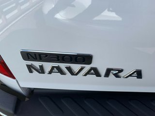 2016 Nissan Navara D23 S2 ST King Cab Polar White 7 Speed Sports Automatic Utility