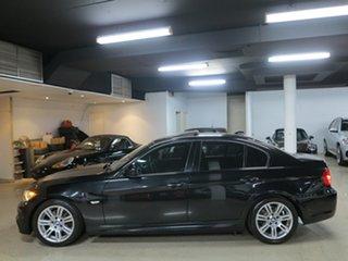 2009 BMW 3 Series E90 MY10 320i Steptronic Executive Black Sapphire 6 Speed Sports Automatic Sedan