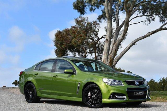 Used Holden Commodore VF MY15 SS V Redline, 2015 Holden Commodore VF MY15 SS V Redline Green 6 Speed Sports Automatic Sedan