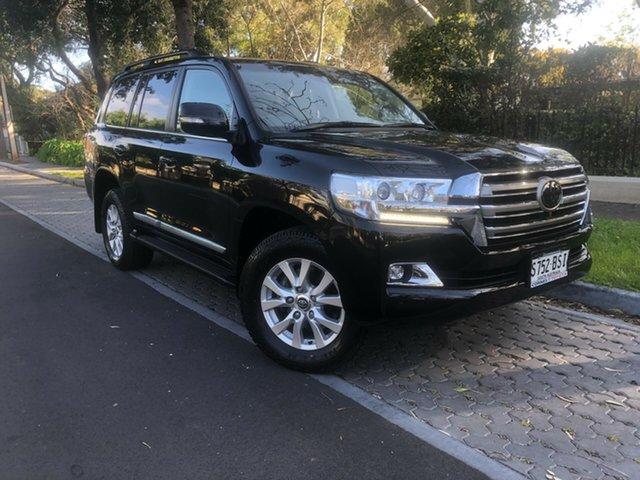 Used Toyota Landcruiser VDJ200R Sahara, 2017 Toyota Landcruiser VDJ200R Sahara Black 6 Speed Sports Automatic Wagon