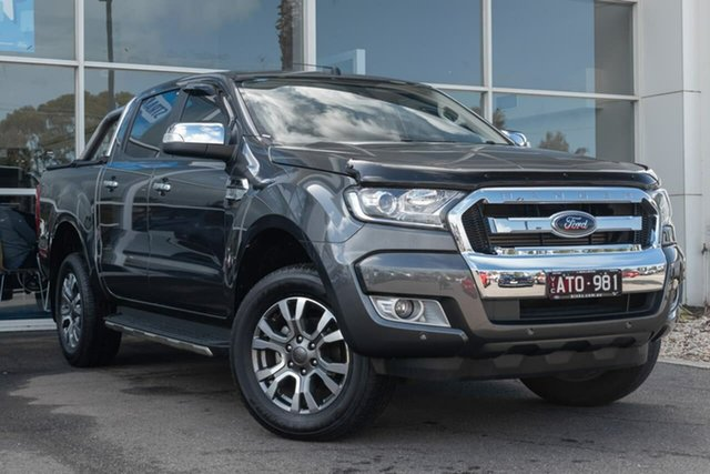 Used Ford Ranger PX MkII 2018.00MY XLT Super Cab, 2018 Ford Ranger PX MkII 2018.00MY XLT Super Cab 6 Speed Sports Automatic Utility