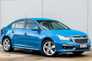 2015 Holden Cruze JH Series II MY15 SRi-V Perfect Blue 6 Speed Sports Automatic Sedan.