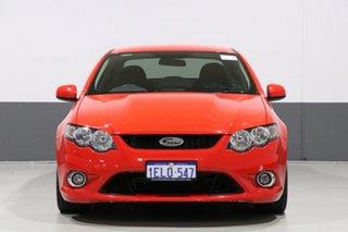2011 FPV GS FG MY11 Red 6 Speed Manual Sedan.