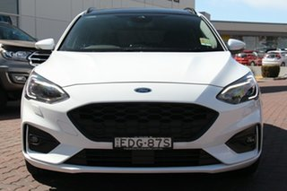 2019 Ford Focus SA 2019.25MY ST-Line Frozen White 8 Speed Automatic Wagon