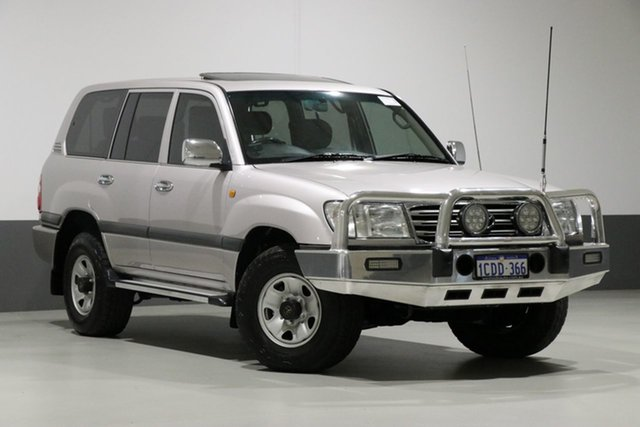 Used Toyota Landcruiser UZJ100R GXL (4x4), 2005 Toyota Landcruiser UZJ100R GXL (4x4) Silver 5 Speed Automatic Wagon