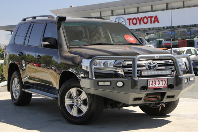 Used Toyota Landcruiser VDJ200R GXL, 2017 Toyota Landcruiser VDJ200R GXL Ebony 6 Speed Sports Automatic Wagon