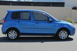 2006 Mazda 2 DY10Y2 Maxx Winning Blue 5 Speed Manual Hatchback.
