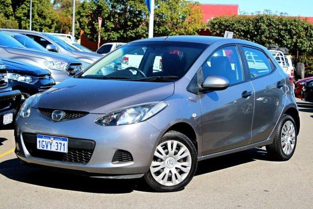 Used Mazda 2 DE10Y1 Neo, 2010 Mazda 2 DE10Y1 Neo Silver 5 Speed Manual Hatchback