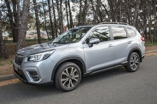 2019 Subaru Forester S5 MY19 2.5i Premium CVT AWD Ice Silver 7 Speed Constant Variable Wagon