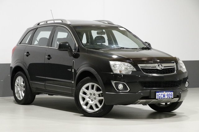 Used Holden Captiva CG MY12 5 (FWD), 2013 Holden Captiva CG MY12 5 (FWD) Black 6 Speed Automatic Wagon