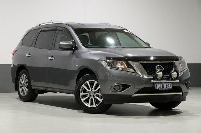 Used Nissan Pathfinder R52 MY15 Upgrade ST (4x4), 2016 Nissan Pathfinder R52 MY15 Upgrade ST (4x4) Grey Continuous Variable Wagon