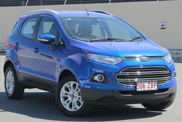 Used Ford Ecosport BK Titanium PwrShift, 2016 Ford Ecosport BK Titanium PwrShift Blue 6 Speed Sports Automatic Dual Clutch Wagon