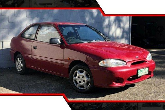 Used Hyundai Excel X3 Sprint, 1997 Hyundai Excel X3 Sprint Red 4 Speed Automatic Hatchback
