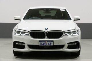2018 BMW 530i G30 MY18 M Sport Alpine White 8 Speed Automatic Sedan.