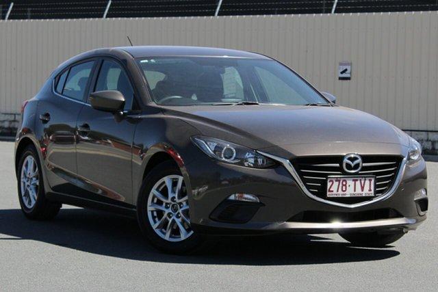 Used Mazda 3 BM5478 Maxx SKYACTIV-Drive, 2014 Mazda 3 BM5478 Maxx SKYACTIV-Drive Bronze 6 Speed Sports Automatic Hatchback