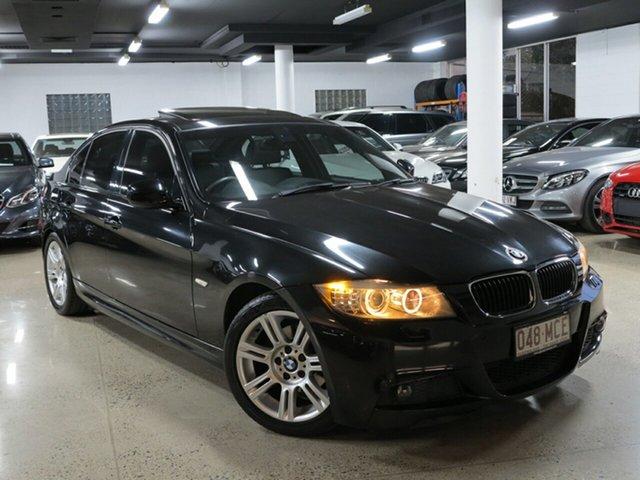 Used BMW 3 Series E90 MY10 320i Steptronic Executive, 2009 BMW 3 Series E90 MY10 320i Steptronic Executive Black Sapphire 6 Speed Sports Automatic Sedan