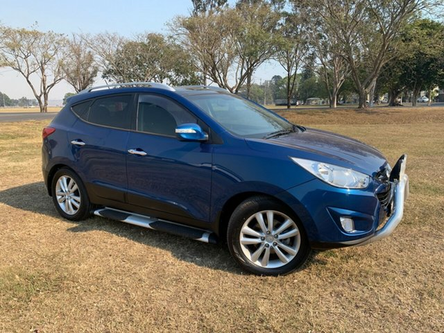 Used Hyundai ix35 LM MY11 Highlander (AWD), 2012 Hyundai ix35 LM MY11 Highlander (AWD) Blue Ocean 6 Speed Automatic Wagon