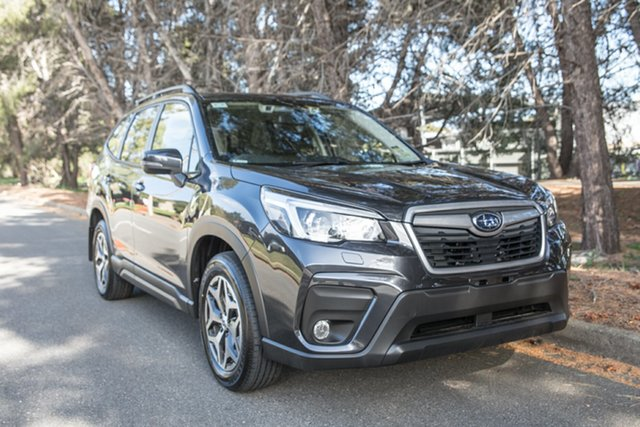 Demo Subaru Forester S5 MY19 2.5i CVT AWD, 2019 Subaru Forester S5 MY19 2.5i CVT AWD Dark Grey 7 Speed Constant Variable Wagon