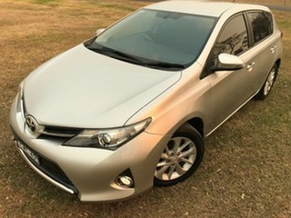 2014 Toyota Corolla ZRE182R Ascent Sport Silver Pearl 6 Speed Manual Hatchback.