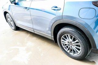 2018 Mazda CX-5 KF2W7A Maxx SKYACTIV-Drive FWD Sport Eternal Blue 6 Speed Sports Automatic Wagon