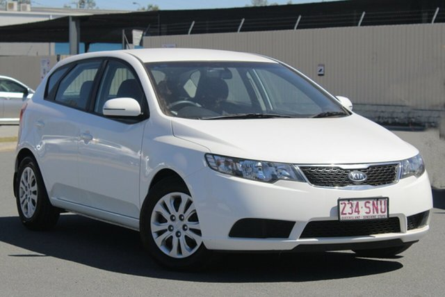 Used Kia Cerato TD MY12 S, 2012 Kia Cerato TD MY12 S White 6 Speed Sports Automatic Hatchback