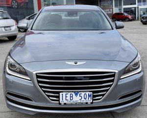 2014 Hyundai Genesis DH Grey 8 Speed Sports Automatic Sedan.