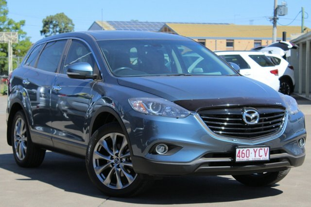 Used Mazda CX-9 TB10A5 Luxury Activematic, 2015 Mazda CX-9 TB10A5 Luxury Activematic Blue Reflex 6 Speed Sports Automatic Wagon