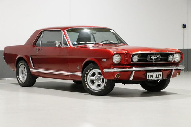 Used Ford Mustang  , 1965 Ford Mustang Candy Apple Red 3 Speed Automatic Hardtop