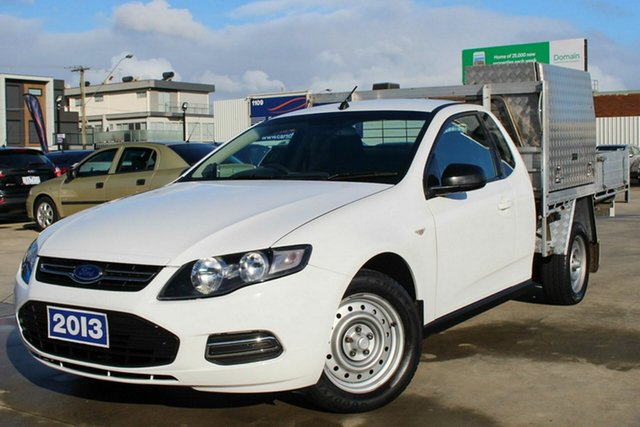Used Ford Falcon FG MkII EcoLPi Super Cab, 2013 Ford Falcon FG MkII EcoLPi Super Cab White 6 Speed Sports Automatic Cab Chassis