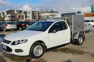 2013 Ford Falcon FG MkII EcoLPi Super Cab White 6 Speed Sports Automatic Cab Chassis