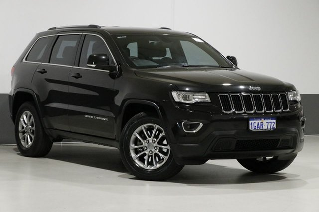 Used Jeep Grand Cherokee WK MY14 Laredo (4x4), 2014 Jeep Grand Cherokee WK MY14 Laredo (4x4) Black 8 Speed Automatic Wagon