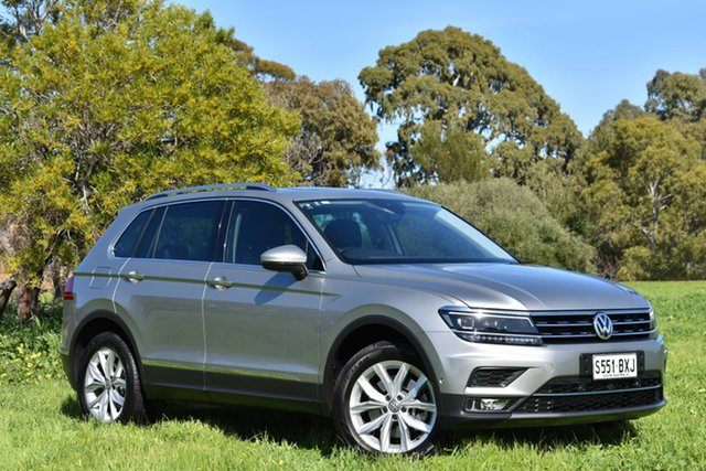 Used Volkswagen Tiguan 5N MY17 162TSI DSG 4MOTION Highline, 2017 Volkswagen Tiguan 5N MY17 162TSI DSG 4MOTION Highline Champagne 7 Speed