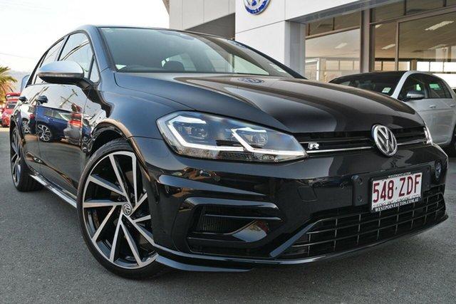 Demo Volkswagen Golf 7.5 MY19.5 R DSG 4MOTION, 2019 Volkswagen Golf 7.5 MY19.5 R DSG 4MOTION Deep Black Pearl Effect 7 Speed