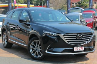 2018 Mazda CX-9 TC GT SKYACTIV-Drive Jet Black 6 Speed Sports Automatic Wagon.