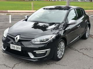 2015 Renault Megane III B95 Phase 2 GT-Line EDC Black/Grey 6 Speed Sports Automatic Dual Clutch