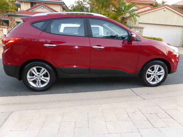 Used Hyundai ix35 LM Elite (AWD), 2010 Hyundai ix35 LM Elite (AWD) Dark Red 6 Speed Automatic Wagon
