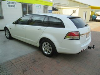 2011 Holden Commodore VE II Omega Sportwagon White 6 Speed Sports Automatic Wagon.