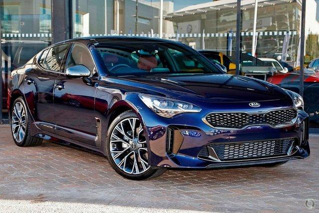 New Kia Stinger CK MY19 GT Fastback, 2019 Kia Stinger CK MY19 GT Fastback Deep Chroma Blue 8 Speed Sports Automatic Sedan