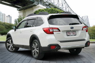2018 Subaru Outback B6A MY18 2.5i CVT AWD Premium White Crystal 7 Speed Constant Variable Wagon.