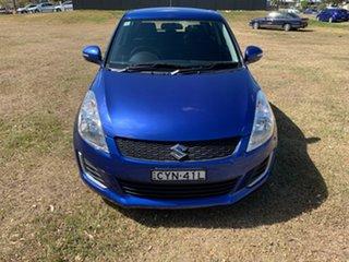 2015 Suzuki Swift FZ MY15 GL Boost Blue 4 Speed Automatic Hatchback