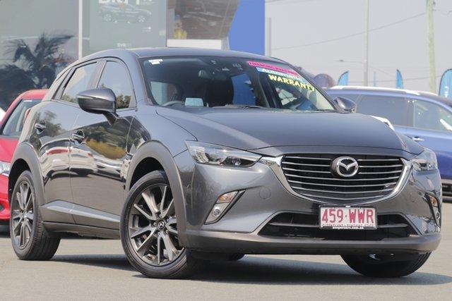 Used Mazda CX-3 DK4W7A Akari SKYACTIV-Drive i-ACTIV AWD, 2016 Mazda CX-3 DK4W7A Akari SKYACTIV-Drive i-ACTIV AWD Grey 6 Speed Sports Automatic Wagon