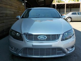 2011 Ford Falcon FG G6E Turbo Silver 6 Speed Sports Automatic Sedan
