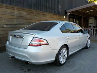 2011 Ford Falcon FG G6E Turbo Silver 6 Speed Sports Automatic Sedan.