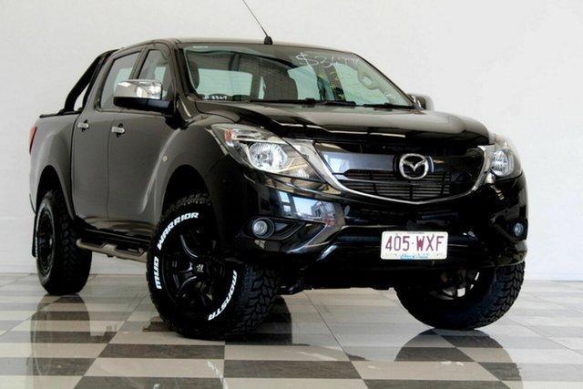 Used Mazda BT-50 MY16 XTR (4x4), 2016 Mazda BT-50 MY16 XTR (4x4) Black 6 Speed Manual Dual Cab Utility