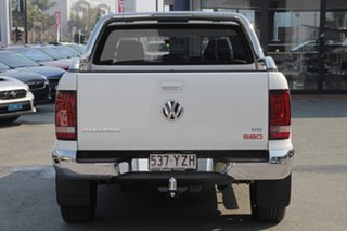 2018 Volkswagen Amarok 2H MY19 TDI580 4MOTION Perm Ultimate Candy White 8 Speed Automatic Utility