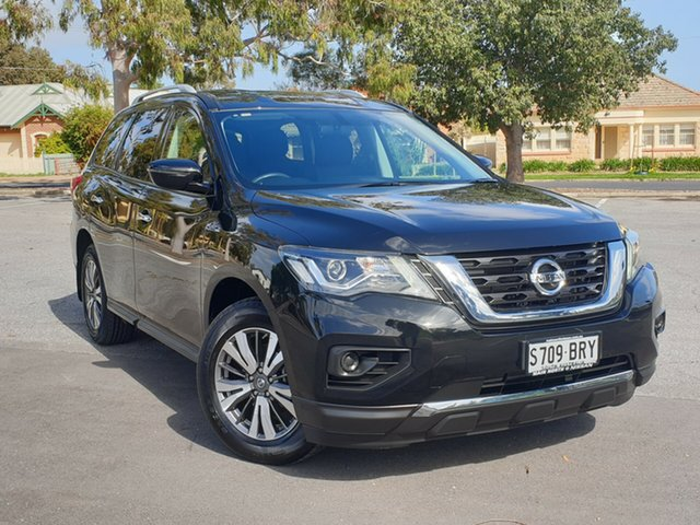 Used Nissan Pathfinder R52 Series II MY17 ST X-tronic 2WD, 2017 Nissan Pathfinder R52 Series II MY17 ST X-tronic 2WD Black 1 Speed Constant Variable Wagon