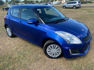 2015 Suzuki Swift FZ MY15 GL Boost Blue 4 Speed Automatic Hatchback.